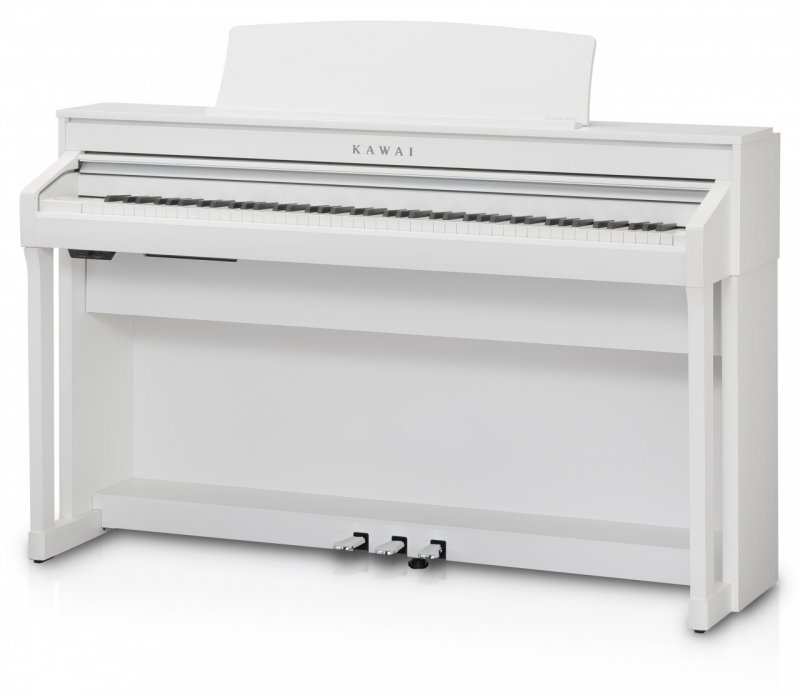 KAWAI - Digitale Piano - CA58 White Satin