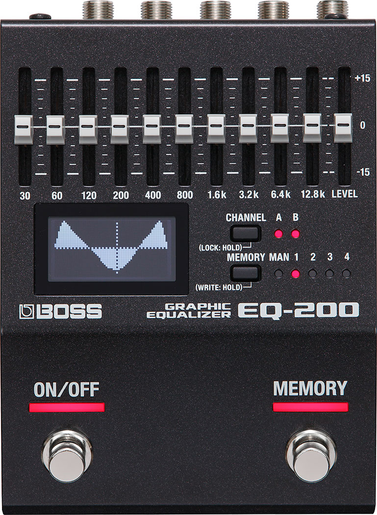 BOSS -EQ200- Graphic Equalizer