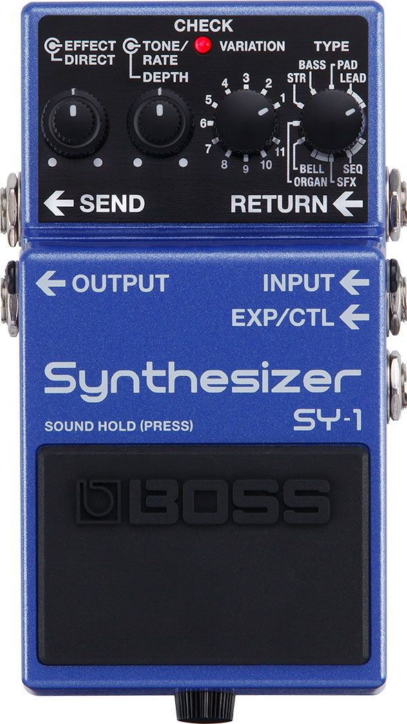 BOSS -SY1- Guitar synthesizer